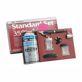 Badger Standard Airbrush Set 350 External Mix