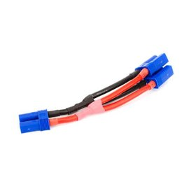 EC5 Battery Parallel Y- Harness, 10Awg