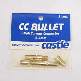 CC 6.5mm Bullet Connectors 3M/3F