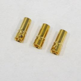 Bullet Connector - Gold Plated 3.5mm Female (3)