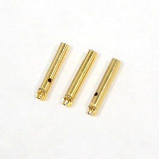 Bullet Connector - Gold Plated 2mm Female (3)