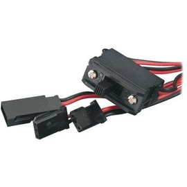 Tactic Switch Harness w/Charge Lead Futaba J