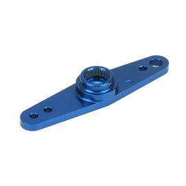 "Aluminum Servo Arm 1.7"" : Spektrum, JR, Airtronics Blue"