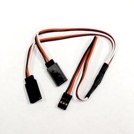 "Y-Harness 12"" HD Universal 22awg"