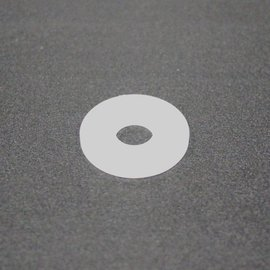 "Nylon Flat Washer 1/4"" ID 3/4"" OD 5/pk"