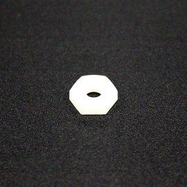 Nylon Hex Nut 6 32 5/pk