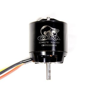 Cobra C-5340/16 Brushless Motor, Kv=200