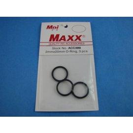 Prop Saver O-rings 2x20mm