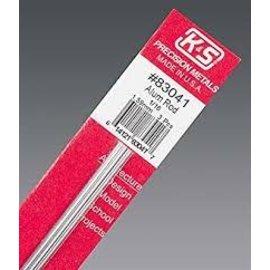 """Solid Alum Rod 83041 1/16"""" 12"""" 3 pcs"""