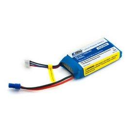 Eflite 1300mAh 2S 7.4V 20C LiPo Battery