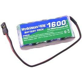 NIMH 4.8V 1600 FLAT RX Battery Pack U 2/3A