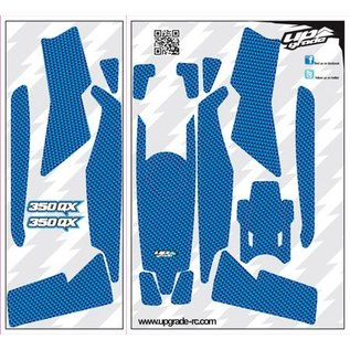 Blade 350 QX Skin Carbon: Blue UPG7111