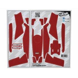 Blade 350 QX Skin Carbon: Red UPG7112