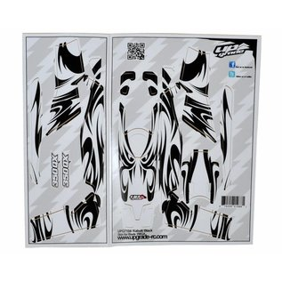 Blade 350 QX Skin Kabuki: Black UPG7104