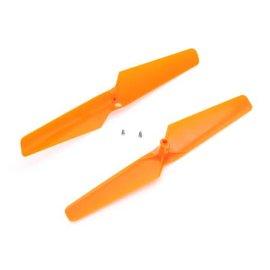 Prop, CW & CCW Rotation, Orange: 180 QX HD, mQX BLH7405