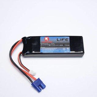 YunTong 6.6 V 2100 mAh  LiFe Battery RX