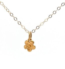 Gold Blossom Necklace