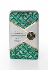 Muddled Peppermint - Shea Butter Soap 5oz