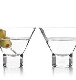 Stemless Martini Glass