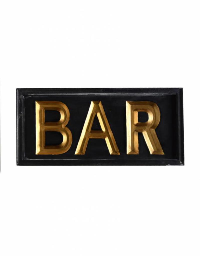 Wooden Bar Sign