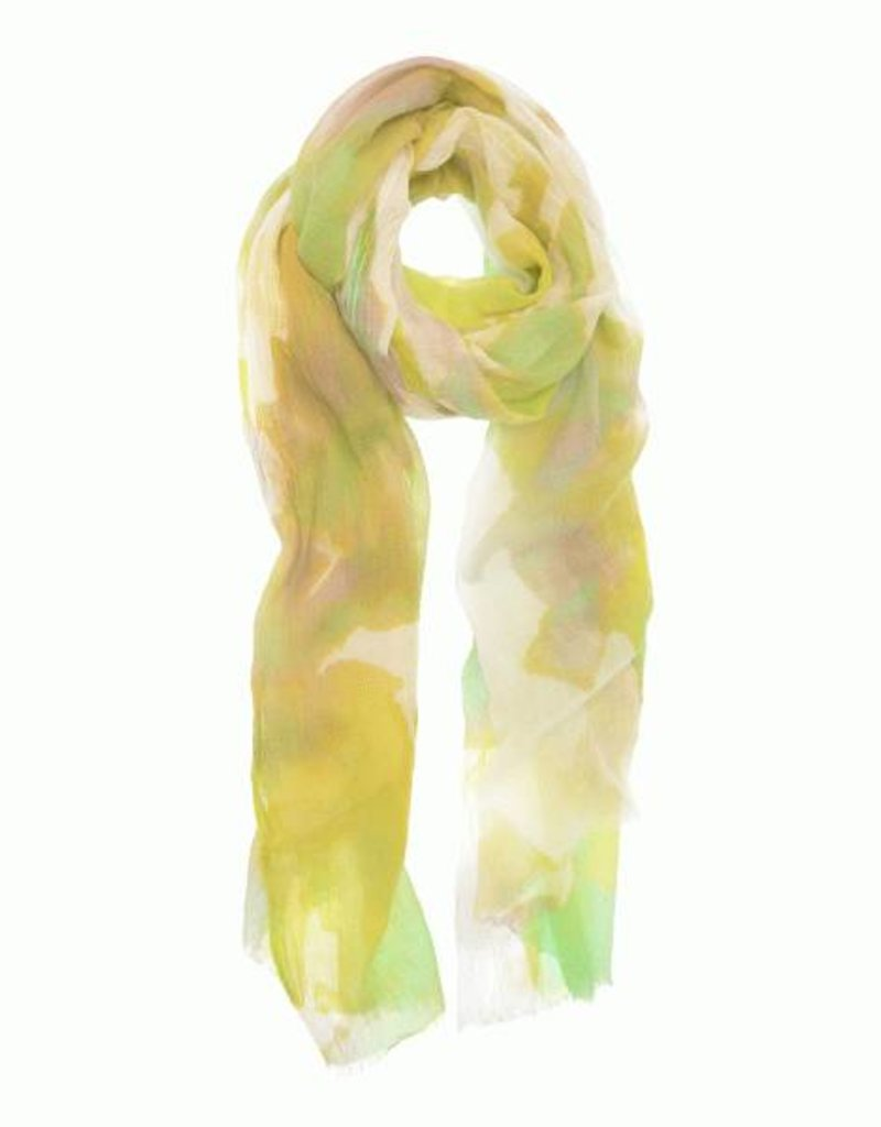 Mint Watercolor Scarf