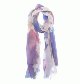 Lavender Watercolor Scarf