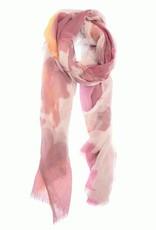 Magenta Watercolor Scarf