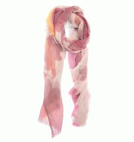 Magenta Watercolor Scarf
