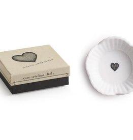 Heart Round Trinket Dish