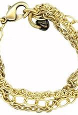 Chain Chain Chain Bracelet-Gold