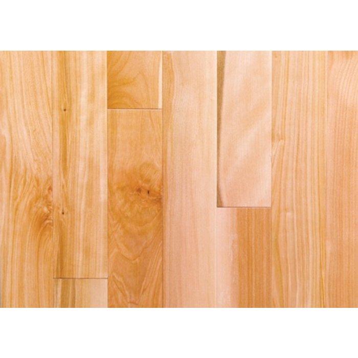 Plancher de bois franc, Merisier canadien, 2-1/4, grade Naturel couleur naturel