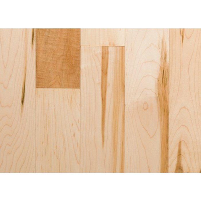 Plancher de bois franc, Erable bois canadien, 2-1/4, grade Sélect - couleur Naturel