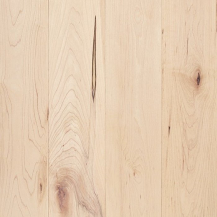 Plancher de bois franc canadien Érable à sucre Grade Cottage Couleur Naturel