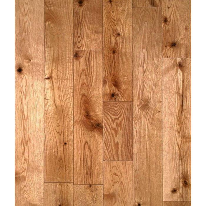 Plancher de bois franc, Chêne canadien, grade antique - rustique couleur naturel