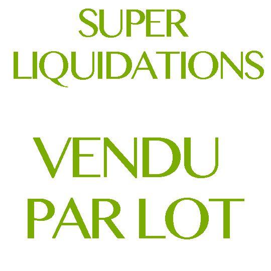 Liquidation de Planchers Par Lot