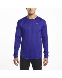 SAUCONY SAUCONY HYDRALITE LONG SLEEVE MEN