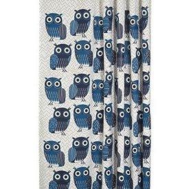 Danica Studio Shower Curtain, Blue Owls