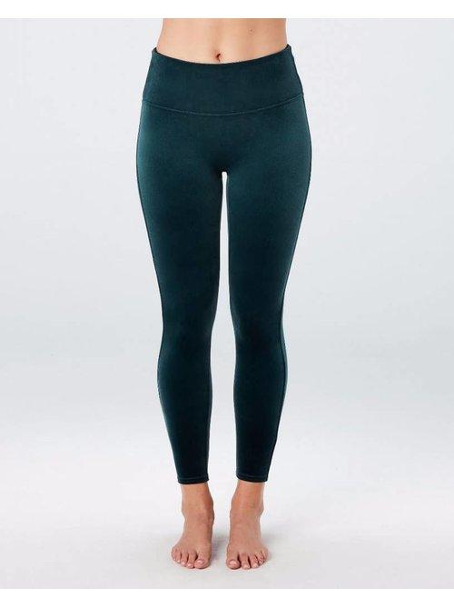 Spanx Spanx Velvet Malachite Leggings