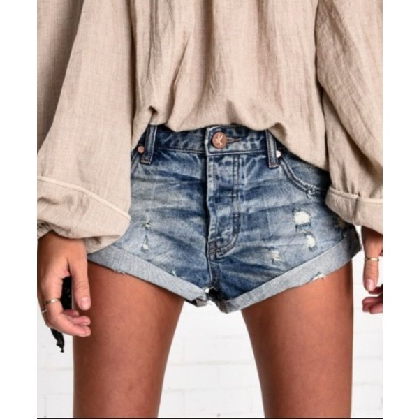 Bandits Blue Boy Shorts
