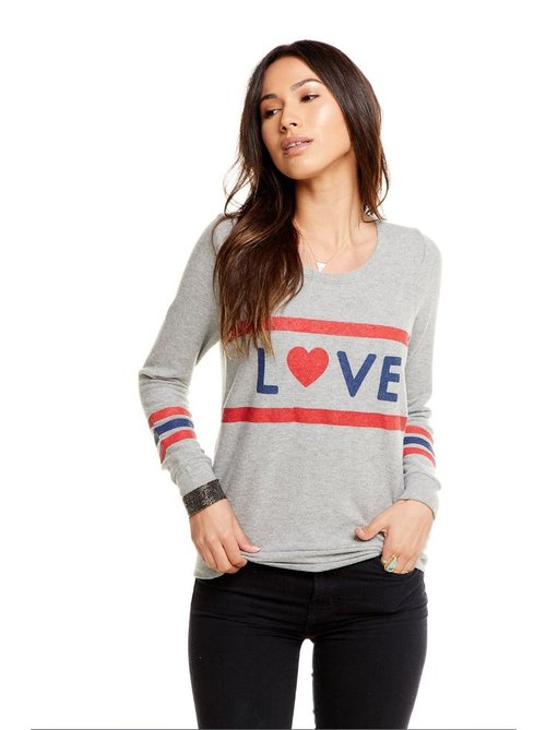 Chaser Love Stripes Pullover