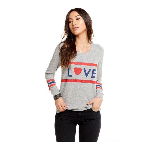 Chaser Love Stripes Pullover