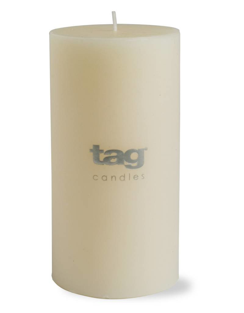 Tag ltd 3x6 Chapel Pillar Candle, Ivory