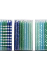 Tag ltd Blue & Aqua Dazzle Birthday Candles