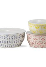 Tag ltd Delft Medium Red Lidded Bowl