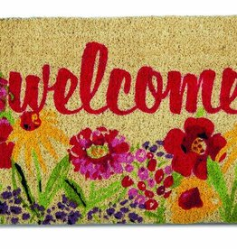 Tag ltd Fresh Flowers Coir Mat