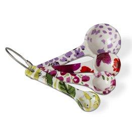 Tag ltd Fresh Flowers Measuring Spoons Set of 4