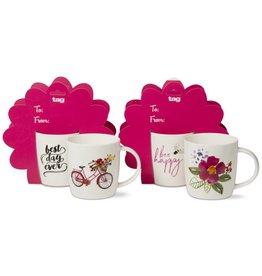 Tag ltd Fresh Flowers Mug Giftset