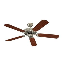 "Seagull Lighting SeaGull 52"" Quality Max - Brushed Nickel Ceiling Fan"