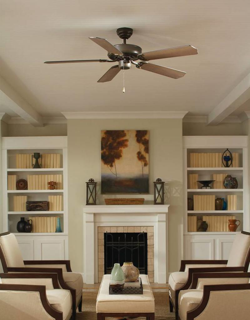 52 quality max brushed nickel ceiling fan sgl hilltop interiors fan seagull lighting sea gull 52 quality max brushed nickel ceiling aloadofball Images