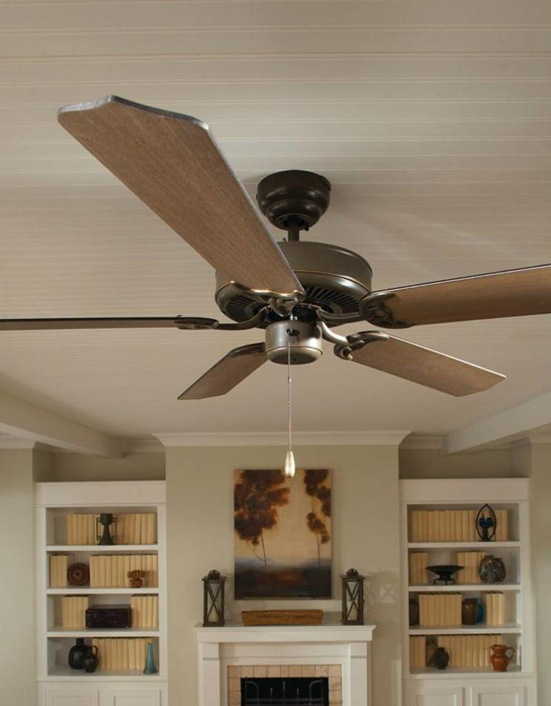 """Seagull Lighting Sea Gull 52"""" Quality Max - Brushed Nickel Ceiling Fan"""